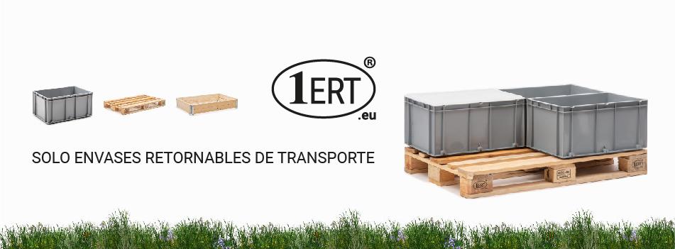 Cajas industriales - Plástico Usadas, Plegables, Norma Europa
