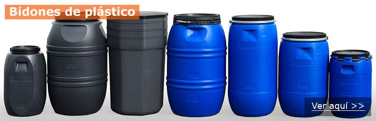 Bidones y depositos l quidos contenedores metalicos y de for Depositos de plastico