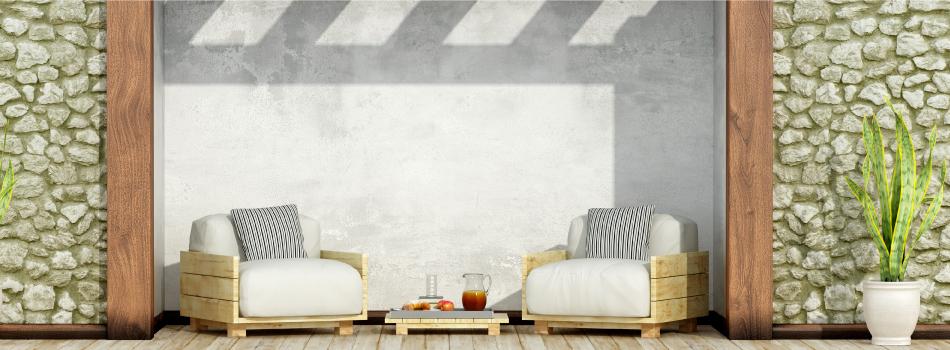 Mesas con palets - Muebles para terrazas hechos con palets