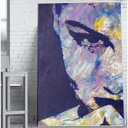 Cuadro Mujer Purpura Impreso 110x180 Ref.GC0109