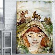 Cuadro Madre Naturaleza Impreso 110x180 Ref.GC0112