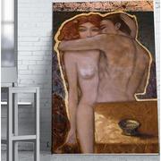 Cuadro Desnudo Hombre/Mujer Impreso 110x180 Ref.GC0122