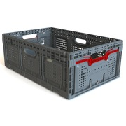 Caja Plastica 40x60x22 Ventilada Plegable PG6422