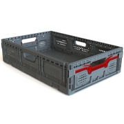Caja Plastica 40x60x15 Ventilada Plegable PG6415