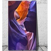Cuadro Digital Rocas Purpura 110x180 Ref.GC0180