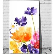 Cuadro Digital Flores Colores 110x180 Ref.GC0200