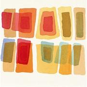 Cuadro Acuarela Rectangulos de Colores Ref.WA005