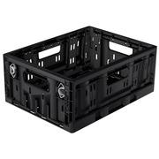 Caja Plastico Plegable 40x30x17 Negra Ref.RPC-4317FL