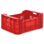 Caja Retornable Rejillada 50x35 Modelo A2