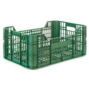 Caja de Plastico Rejillada Ligera 60x40 Modelo CV24