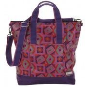 Bolso de Viaje Nylon Tic Tac Toe Purpura Ref.HDK843