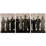 Cuadro Panorámico de Madera Retrato Color 147x60cm
