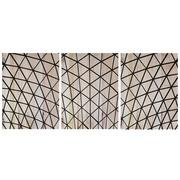 Cuadro Panorámico de Madera Telaraña 147x60cm