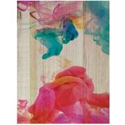 Cuadro de Madera Humo Colores 3 45x60cm