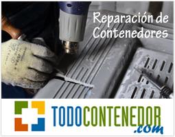 Nuevo servicio de reparación de contenedores de plástico