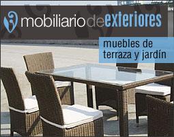 mobiliario de exteriores