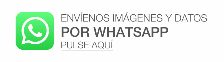 Envíenos imágenes y datos por Whatsapp