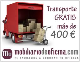 Transporte gratis para pedidos de mas de 400€