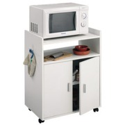 Mueble Microondas + 2 Puertas Melamina Modelo 9420