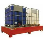 Cubeta Retenedora  lacada para 2 GRG-IBC