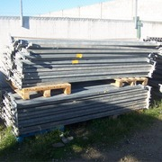 Estanterias usadas galvanizadas
