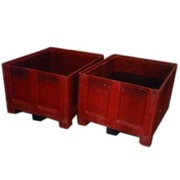 Contenedor Big Box Rojo 100x120x79