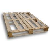 Palets de madera 100x120 Flojo Cerrado Usado