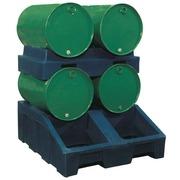 Cubeto Dispensador Soporte 2 Bidones de 200 litros Ref.PHD2