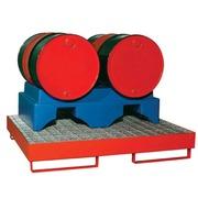 Soporte 2 Bidones de 200 litros Ref.PSP1