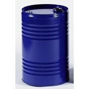 Bidon metalico 2 tapones azul