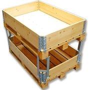 Esquinero de metal para Cerchos de madera