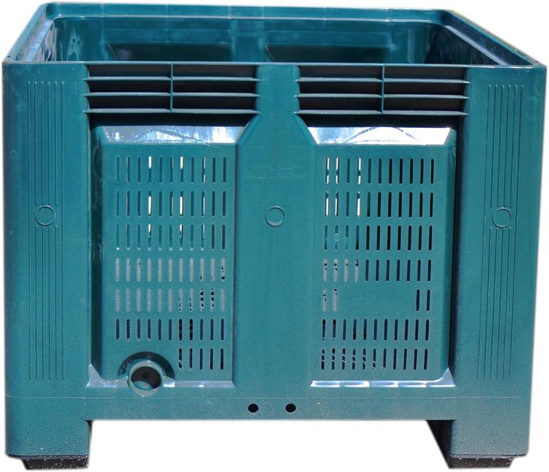 Contenedor plastico big box - Precio de contenedor ...