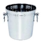 Cubitera metal para vinos en Acero Inox 19.5