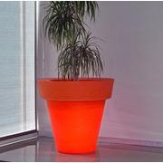 Jardinera Polietileno iluminada