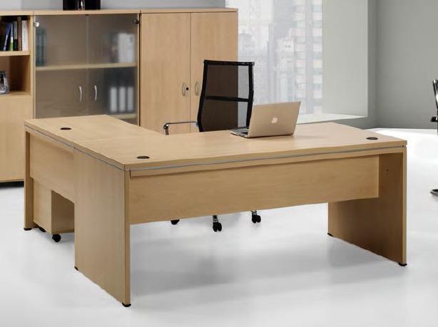 Mesa de despacho moderna en un chal en la zona de la - Mesas de despacho ...