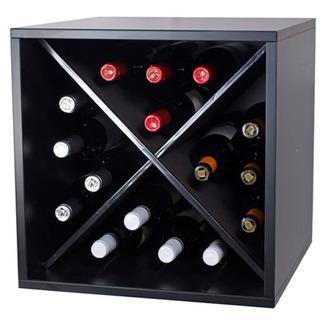 Estanter as para botellas de vino botelleros modulares - Botellero de madera para vino ...