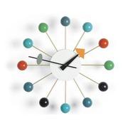 Reloj Pared Acero Multicolor Ref.MUE3800