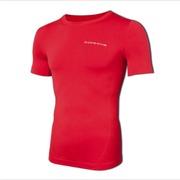 Coreevo Camiseta Manga Corta, Rojo