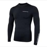 Coreevo Camiseta Manga Larga, Negro
