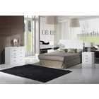 Ambiente Dormitorio completo Kinus-Blanco Lacado
