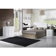 Ambiente Dormitorio Kinus-Blanco Lacado