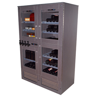 Purera Dispensador 140 Botellas Modelo PLATINUM