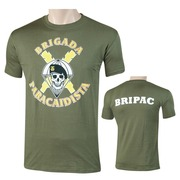 Camiseta Brigada Verde Olivo