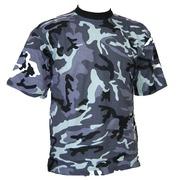 Camiseta Camo Azul