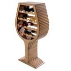 Botellero en forma copa Vino grande - 18 Botellas