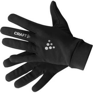 GUANTES RUNNING CRAFT ACTIVE NEGRO