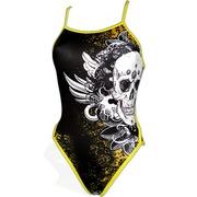 Bañador Competición Mujer PBT Black Skull