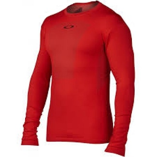 CAMISETA TERMICA OAKLEY STILLWELL BASE TOP ROJO