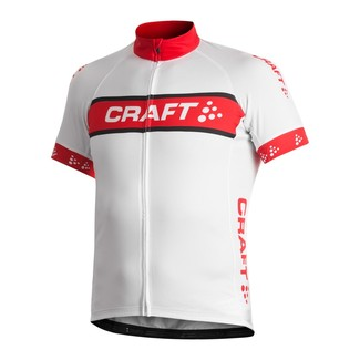 MAILLOT MANGA CORTA CRAFT ACTIVE LOGO BLANCO