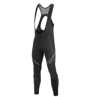 CULOTTE CICLISMO LARGO CRAFT PERFORMANCE THERMAL NEGRO